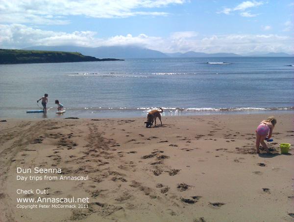Dun Seanna Beach Annascaul