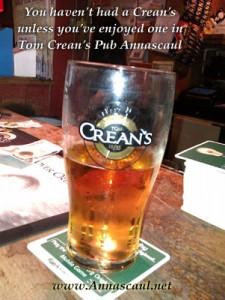 Crean's beer Annascaul