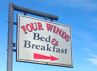 Four Winds bed and breakfast Annascaul