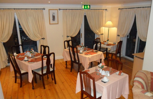 Annascaul House BB Dining Room