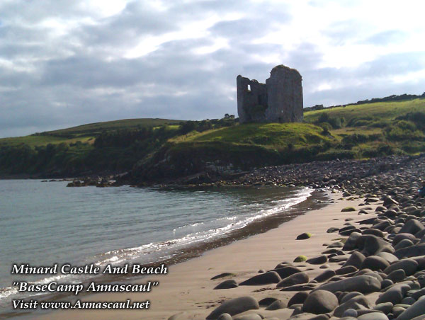 Minard Castle and Beach BaseCamp Annascaul